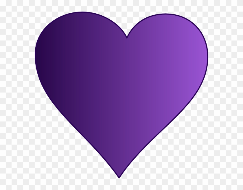 Purple Heart Clip Art Purple Heart Clip Art At Clker - Purple Heart Clip Art #7773