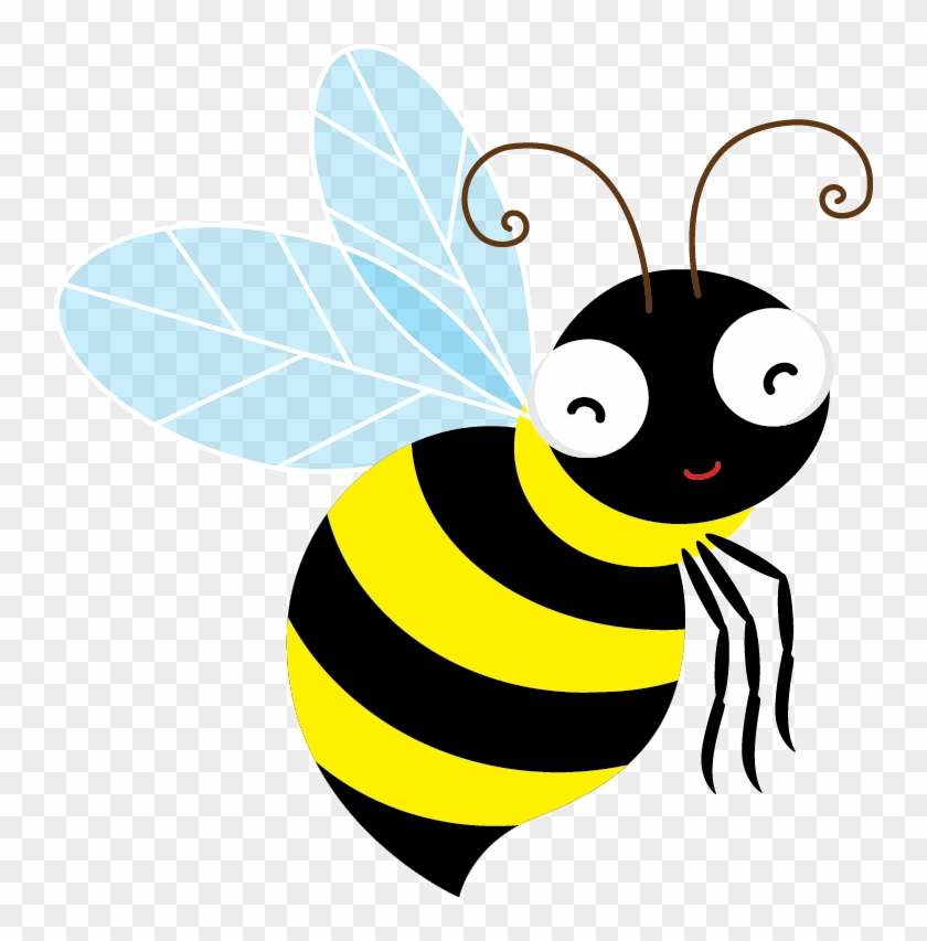 Bee Clipart Positive - Spelling Bee Without Background #7803