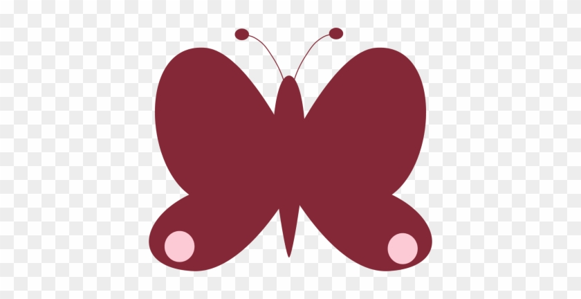 Red Butterfly - Clip Art #7809