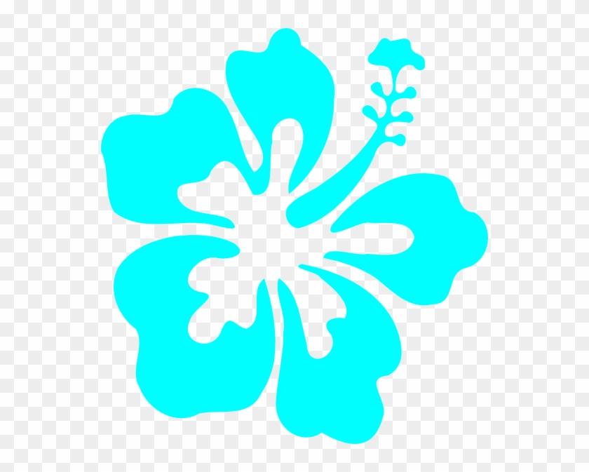 Shell Clipart Hawaiian - Hibiscus Clip Art #7860