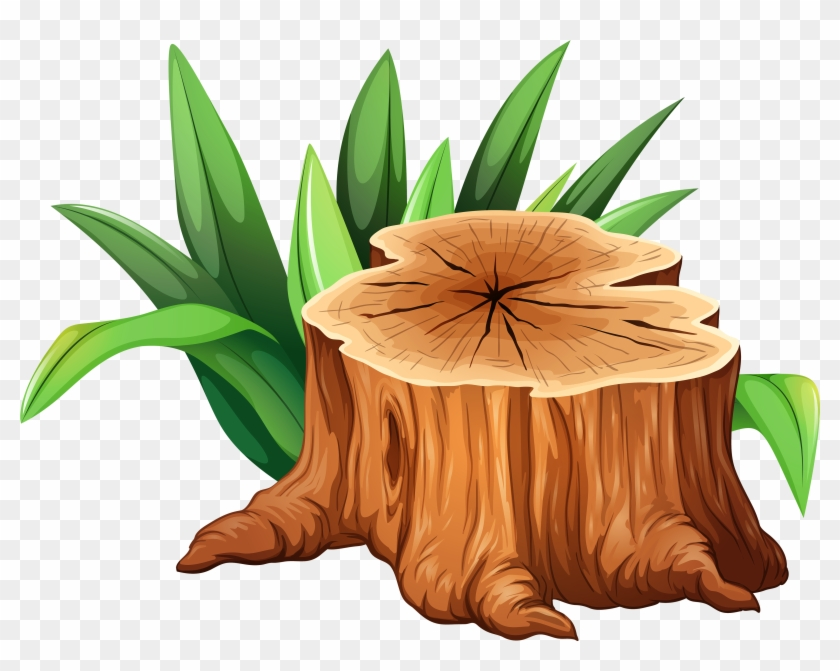 Tree Trunk Tree Stump Clipart - Tree Trunk Tree Stump Clipart #114