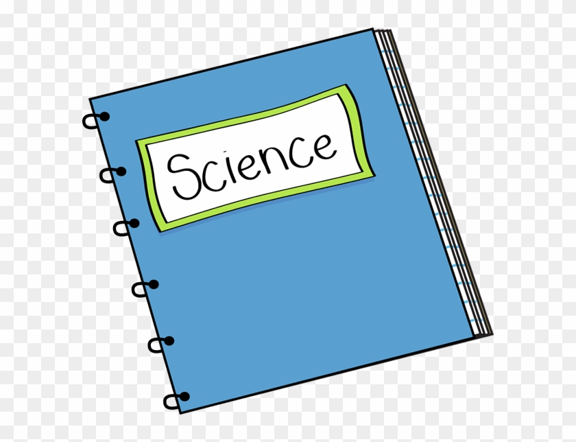 Science Notebook Clip Art - Science Book Clipart #7882