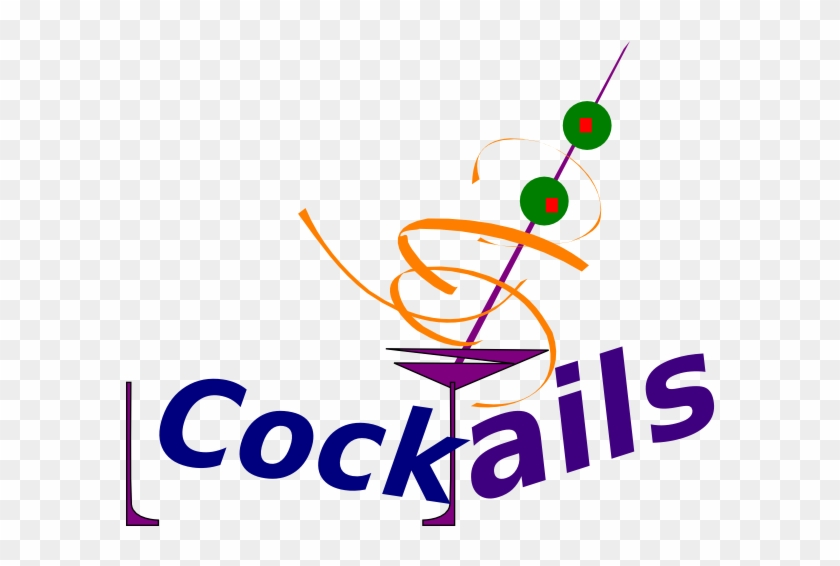 Clip Arts Related To - Cocktails Clipart #7884