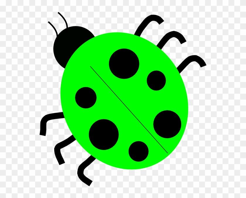 Green Ladybugs Clip Art - Ladybug Black And White #7885