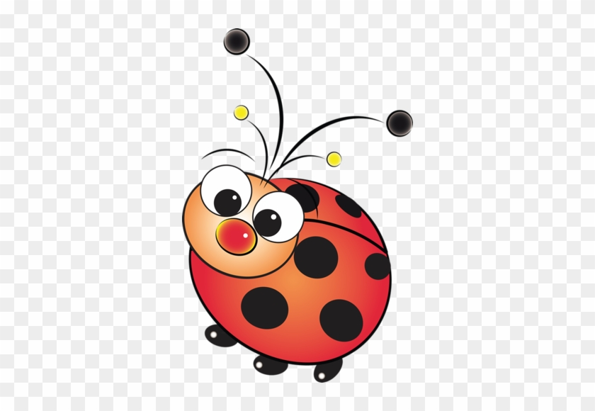 Baby Ladybug Clipart - Cartoon Cute Lady Bug #7888