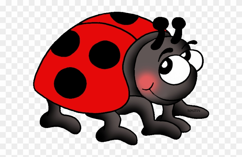 Tennessee State Insect - Lady Bug Clip Art #7893