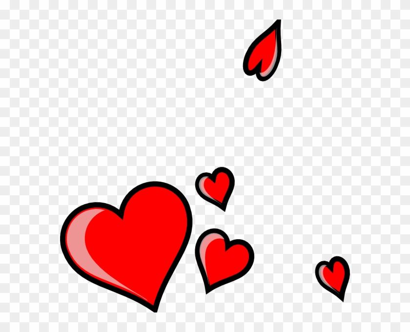Three Hearts Clip Art - Three Hearts Clip Art #7924