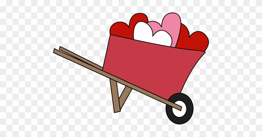 Wheelbarrow Of Hearts - Letter H Poem Kindergarten #7940