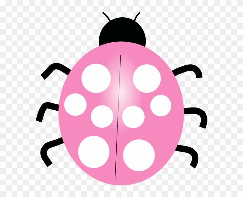 Pink Ladybug Clip Art - Pink Ladybug Transparent #7986