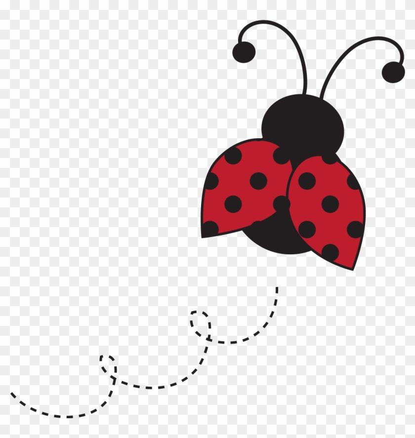 Baby Ladybug Clip Art - Ladybug Baby Shower Invitations #8008