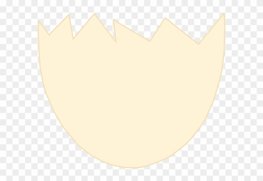 Egg Clipart Egg Shell - Half Egg Shell Cartoon #8011