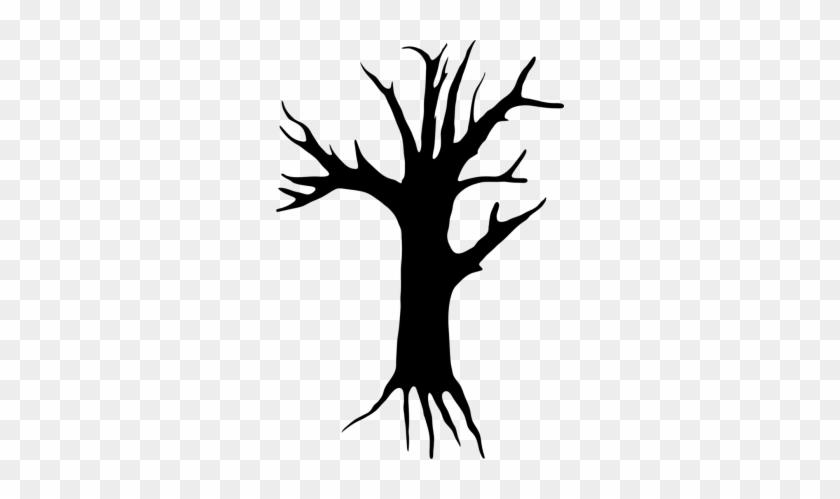 Spooky Tree Clipart - Creepy Tree Clipart #780