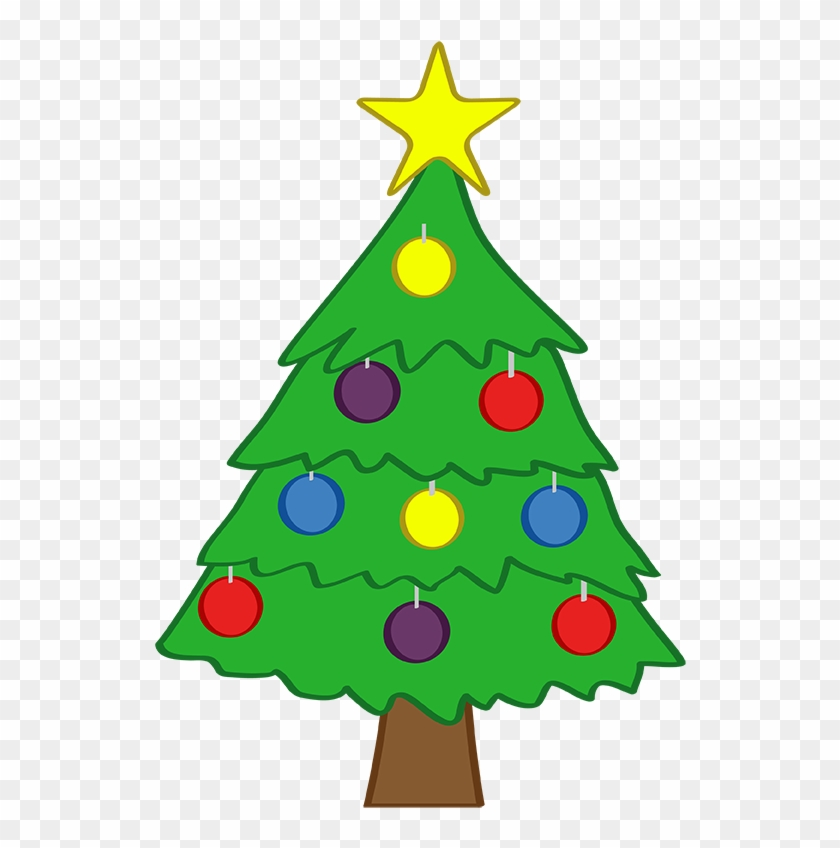 Cute Christmas Tree Clipart - Small Christmas Tree Clip Art #824