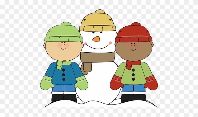 Winter Clip Art - Winter Kids Clipart #843