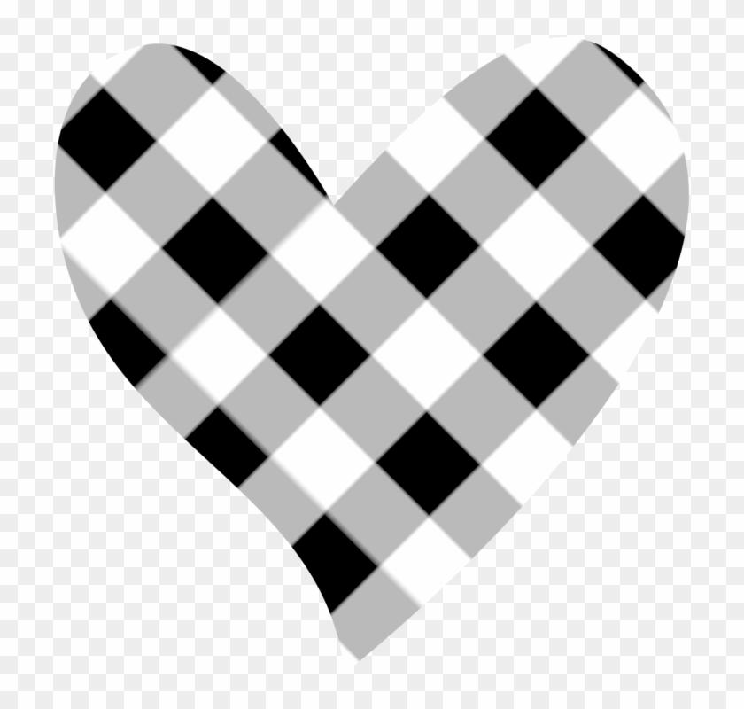 Black Heart Heart Black And White Heart Clipart Clip - Black And White Heart Clipart Png #8086