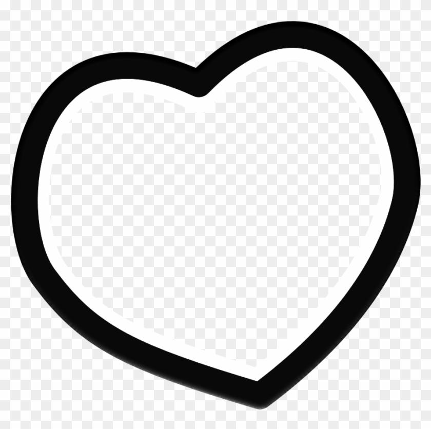 Black Heart Clip Art Clipart - Gif Heart Transparent Black #8089