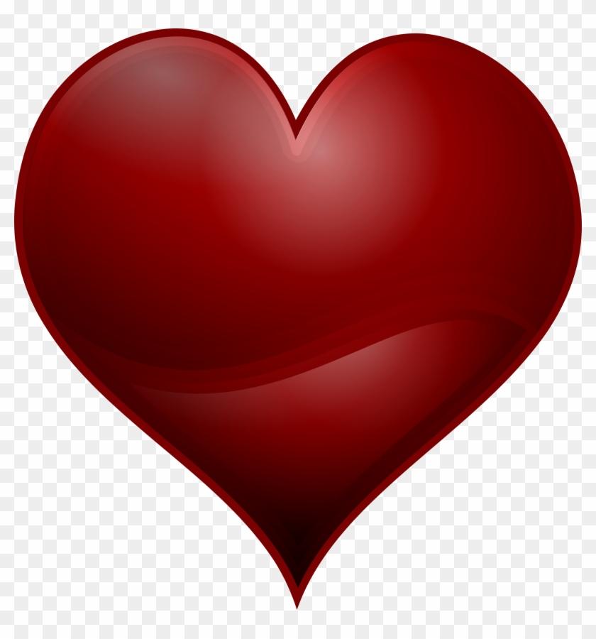 Free To Use Public Domain Hearts Clip Art - Red Heart Clip Art Free #8110