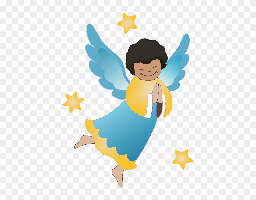 African american religious christmas clipart angel - African american christmas images ...