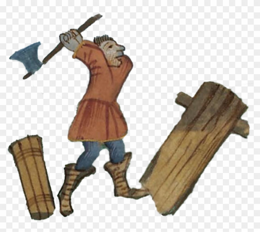 Pren - Middle Ages Wood Cutting #8134