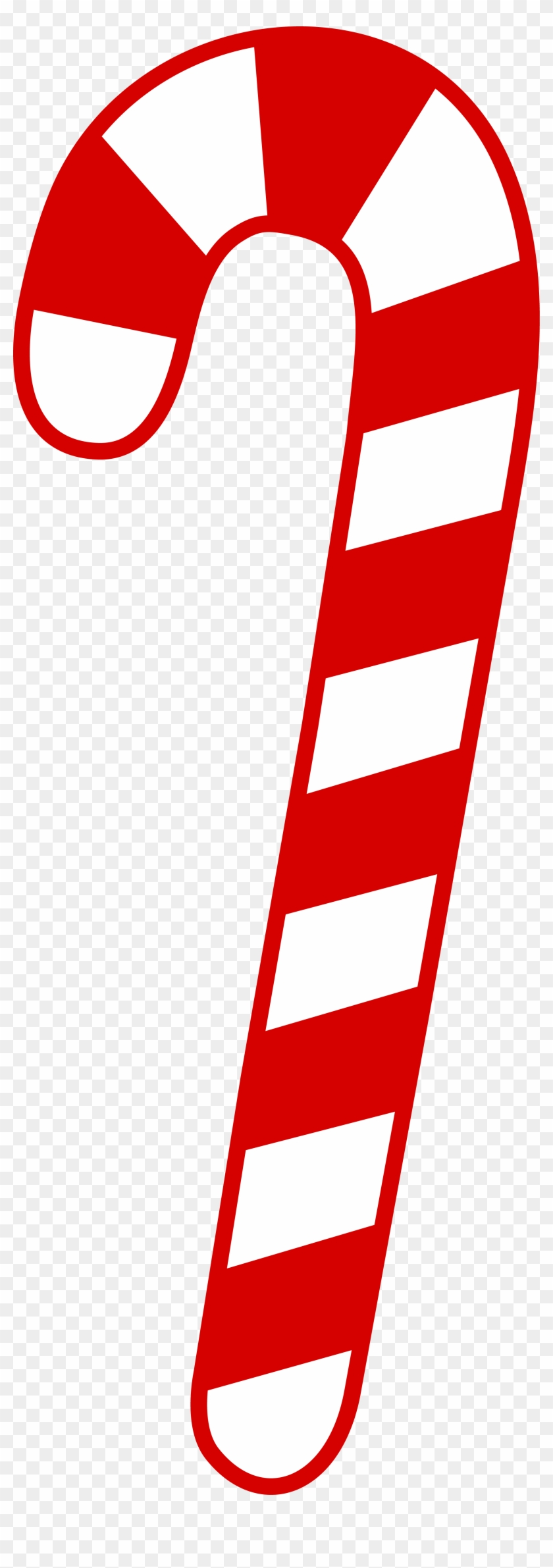 Christmas Candy Png - Red And White Candy Cane #806