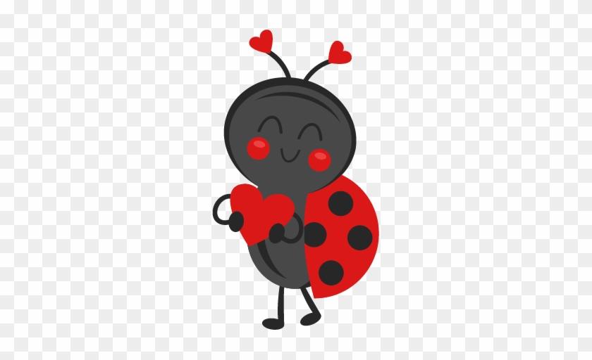Ladybug Clipart Valentine - Clip Art #8183