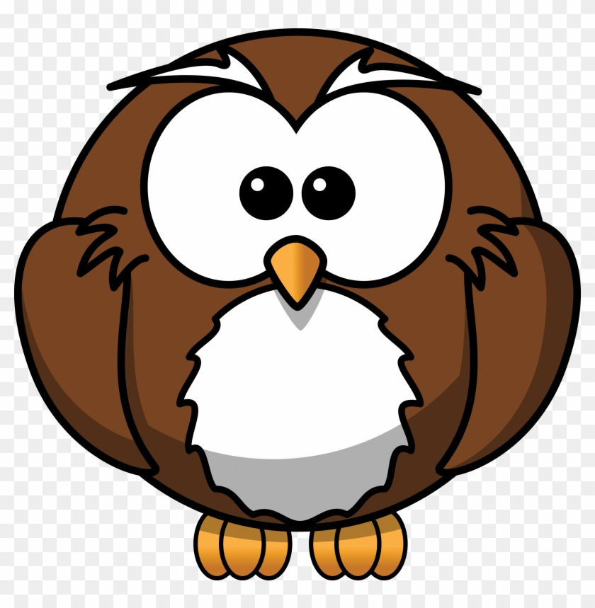 Free Cartoon Owl Clipart - Owl Cartoon #8191