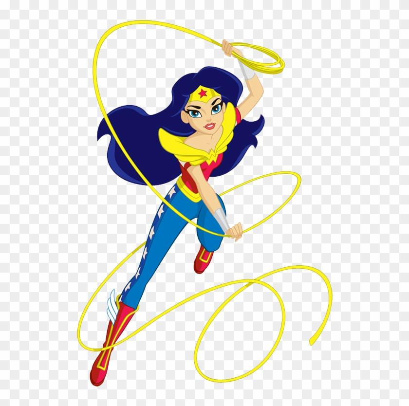 Super Girl Clipart Batgirl - Wonder Woman Super Hero Girls #8189