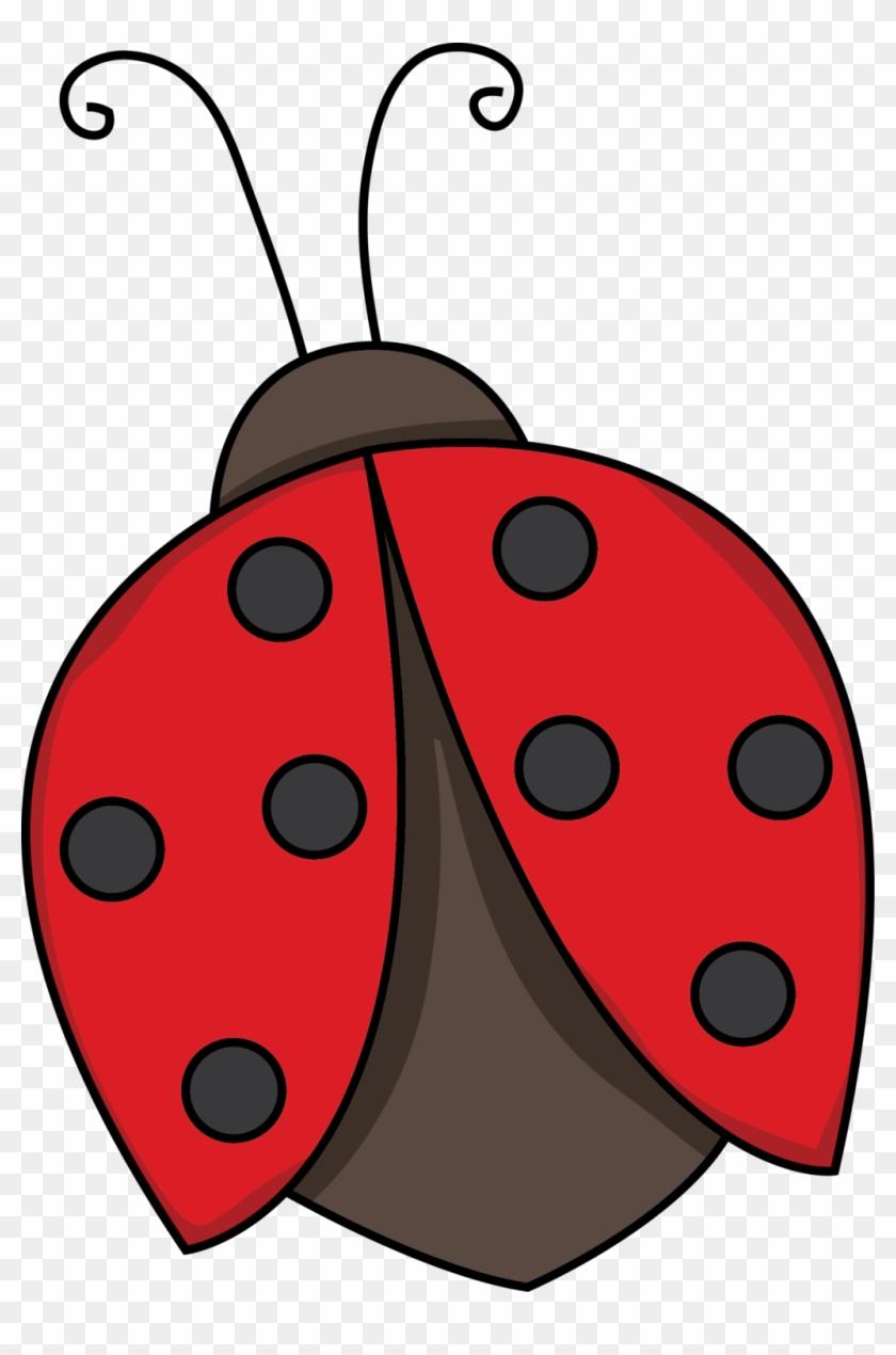 Ladybug Outline Related Keywords Clip Art - Lady Bug Clip Art Cute #8190