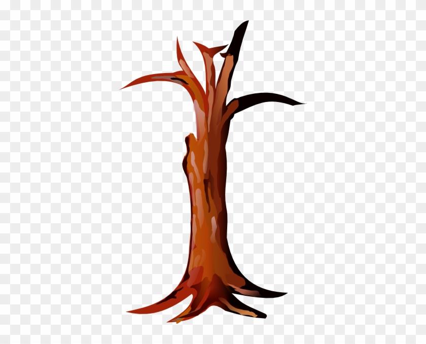 Clipart Of A Tree Trunk Clip Art At Clker Com Vector - Trunk Clipart #8193