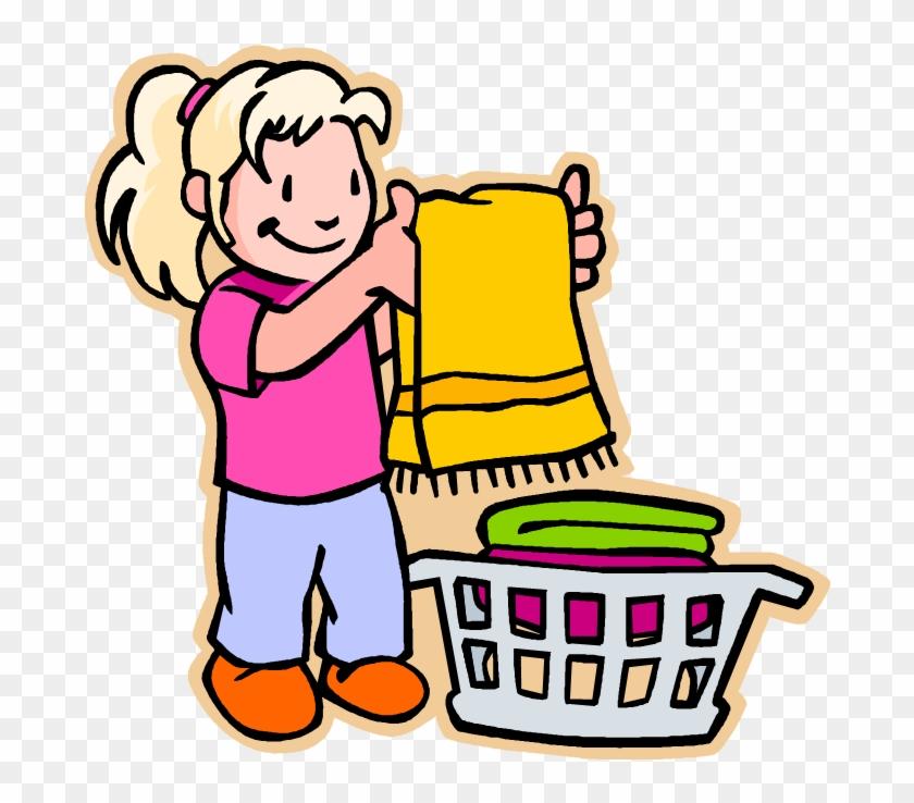 Free Laundry Clipart Clip Art Image Of - Laundry Clip Art #8216