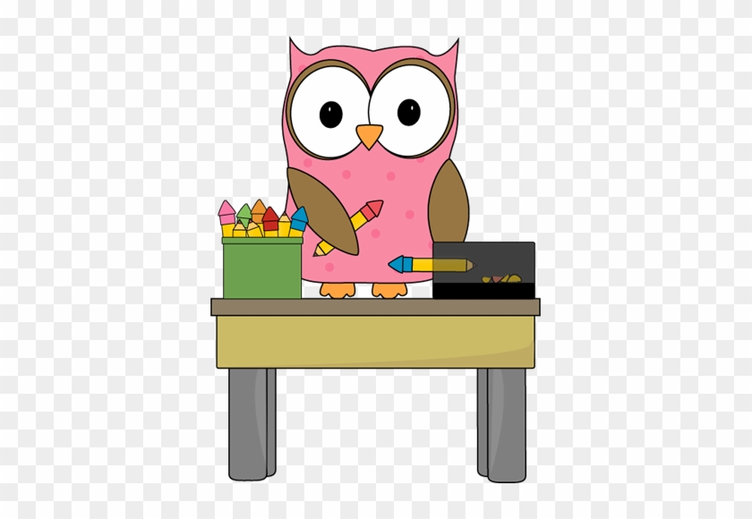 Owl Pencil Monitor - Owl In Classroom Clipart #8212