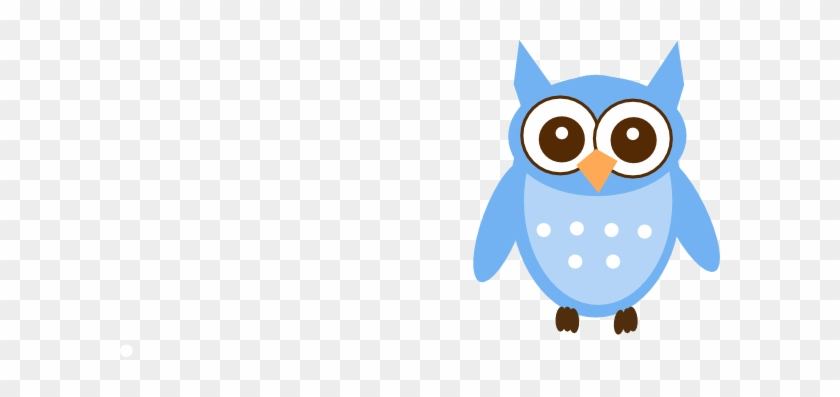 Cute Blue Owls #8277