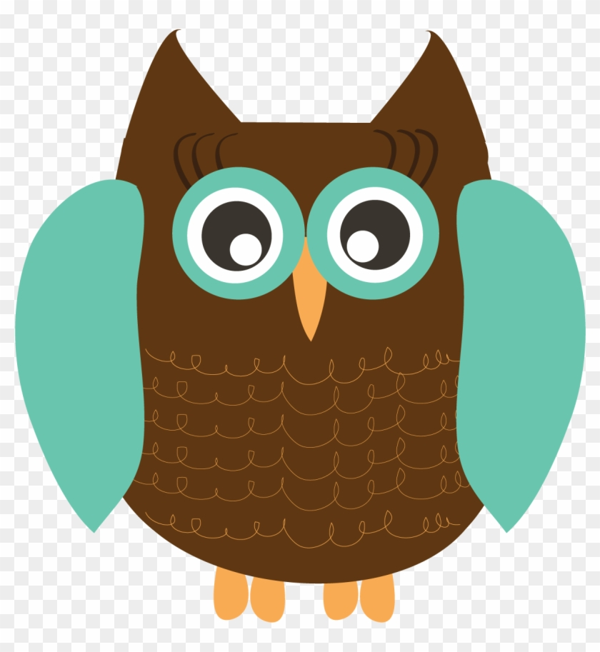 Owl Clipart Crafthubs - Brown Owl Glass Tile Pendant Necklace Jewelry #8296