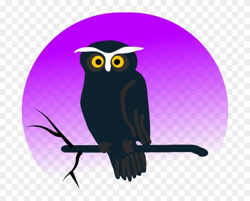 Owl Clipart - Halloween Owl Shower Curtain #8301