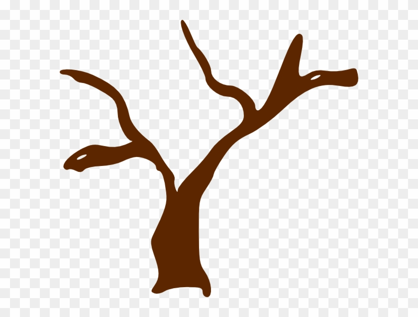 Brown Clipart Tree Trunk - Tree Clip Art #8306