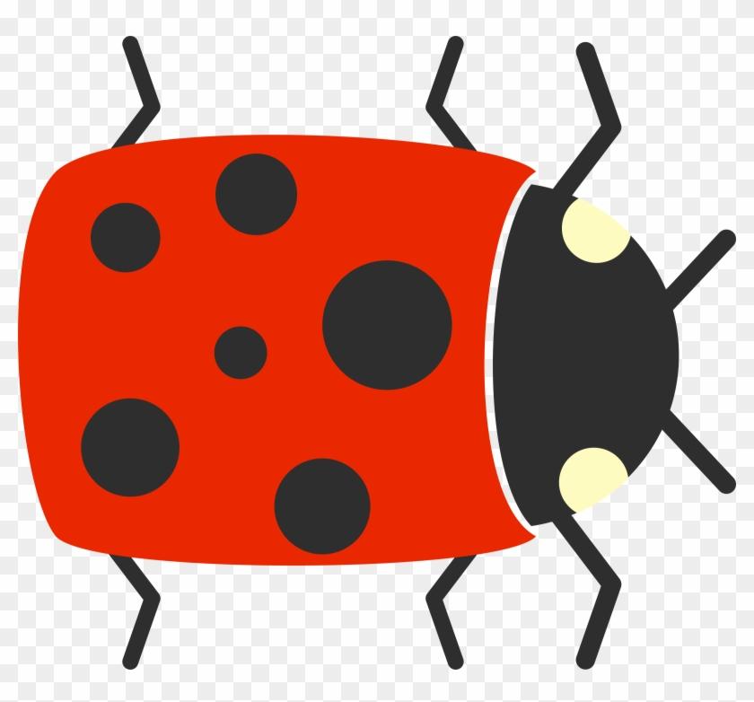 Free To Use & Public Domain Ladybug Clip Art - Simple Cartoon #8331