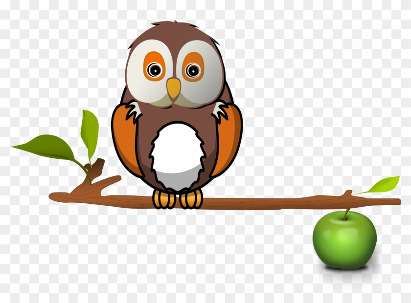 Branch Log Clipart Explore Pictures - Owl On Branch Clipart #8344