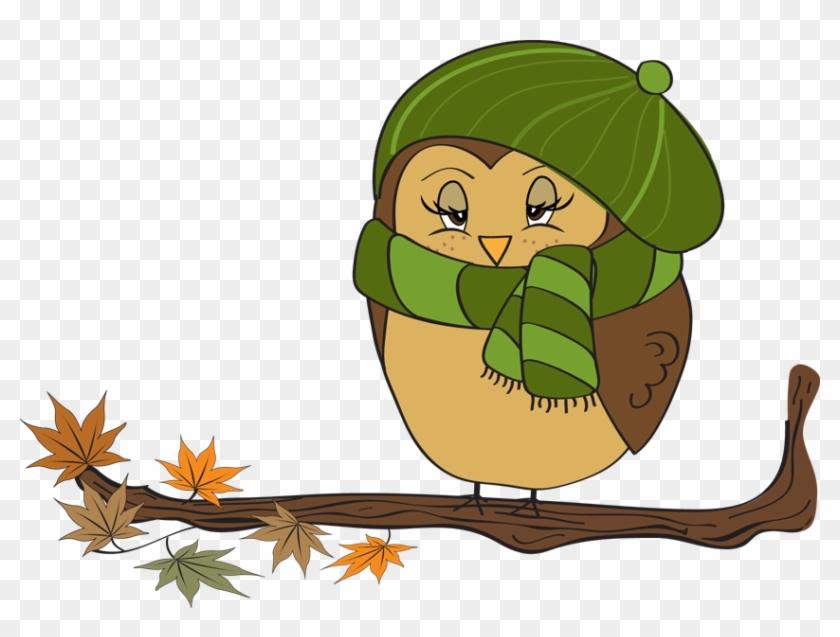 Owl Autumn Free Content Clip Art - Owl Autumn Free Content Clip Art #8369