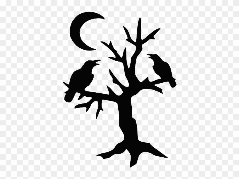 30 Wonderful Halloween Tree Tattoos Designs And Ideas - House #8360