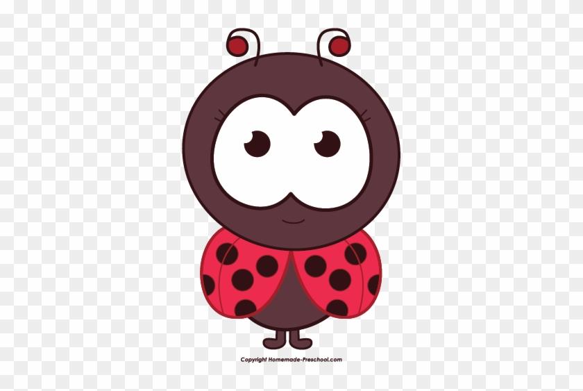 Free Ladybug Clipart - Ladybug Clipart #8362