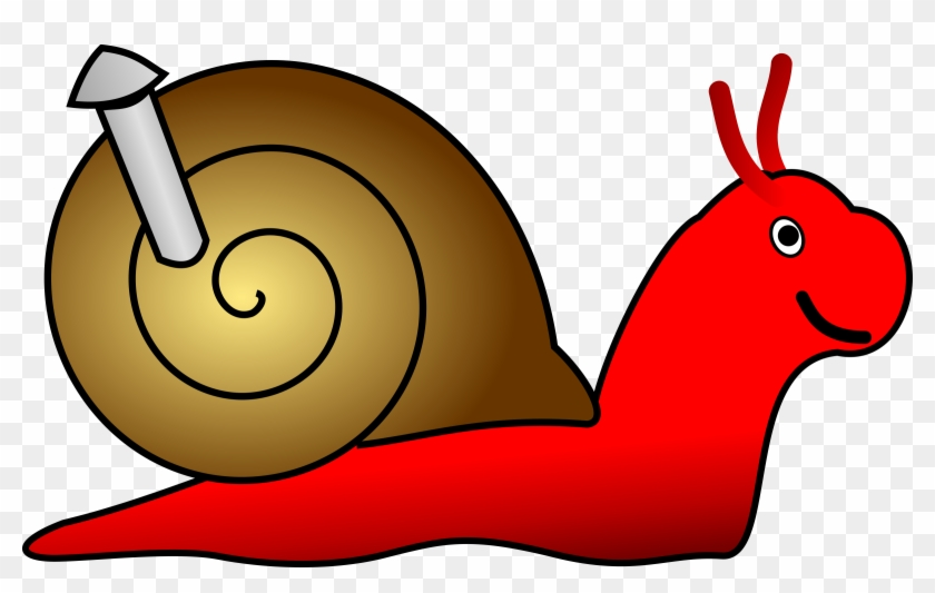 Gary The Snail Clipart Clip Art Of 4 Clipartwork - Golubella Cartoon #8386
