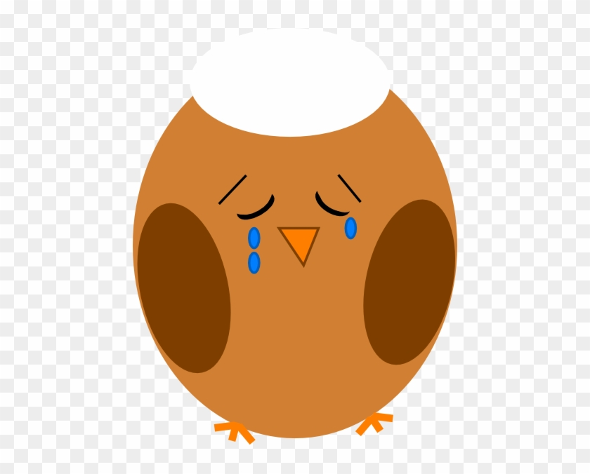 Sad Owl Cliparts - Owl Sad Clip Art #8399