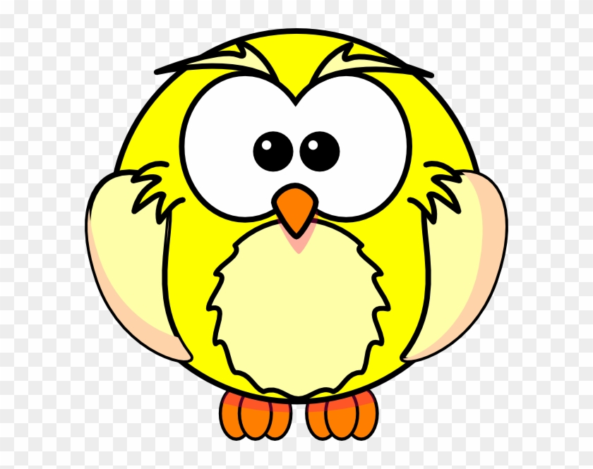 Yellow Owl Clip Art - Easy Wolf Face Drawings #8412