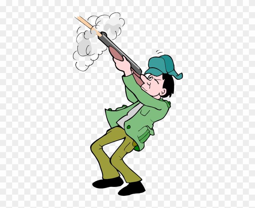 Hunting Clipart Target Shotgun Shell - Hunter Clip Art #8454