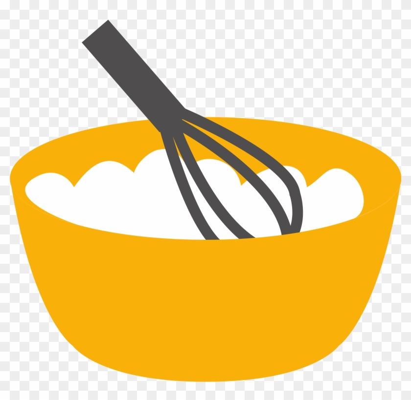Whisk Bowl Kitchen Utensil Tableware Clip Art - Whisk Clipart #8466