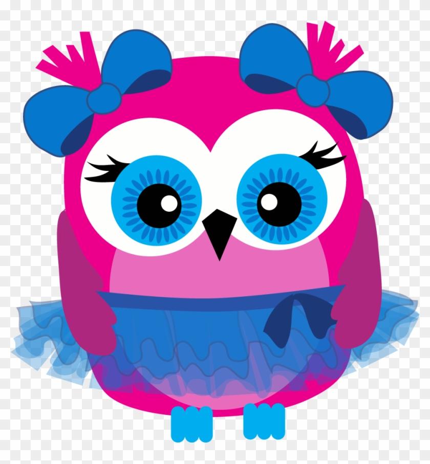 Pink Owl Clip Art - Owl Clipart #8474