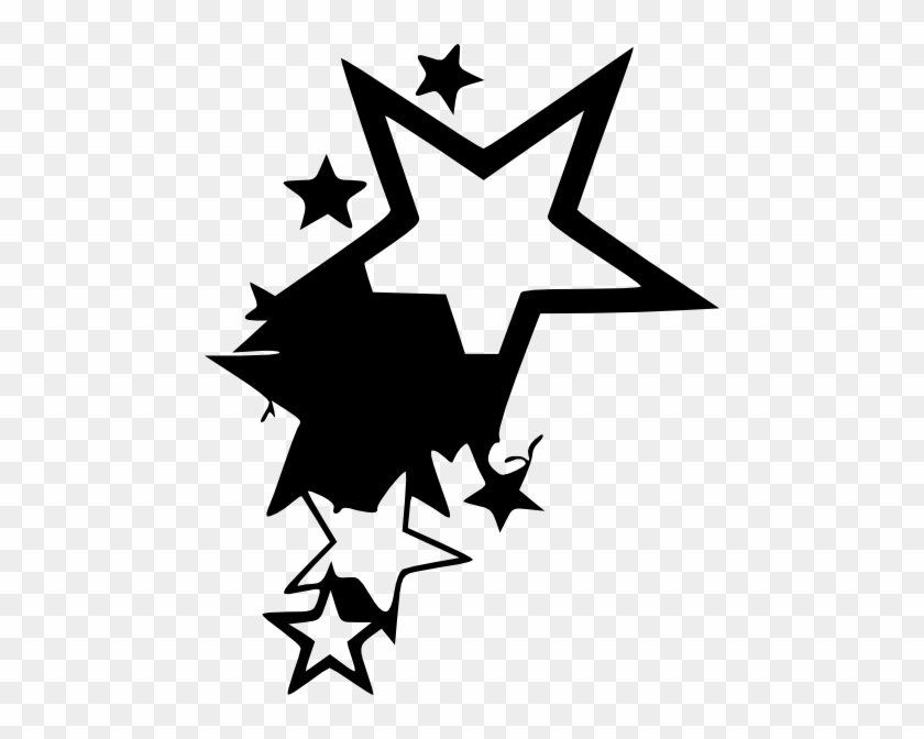 Clip Arts Related To - Transparent Star Tattoo Png #8506