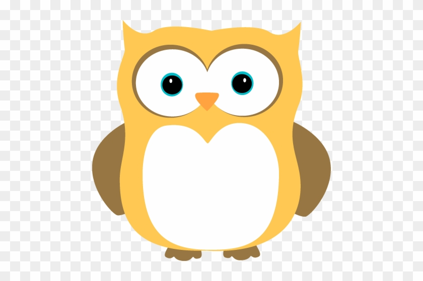 Owl - Yellow Owls Clipart #8507