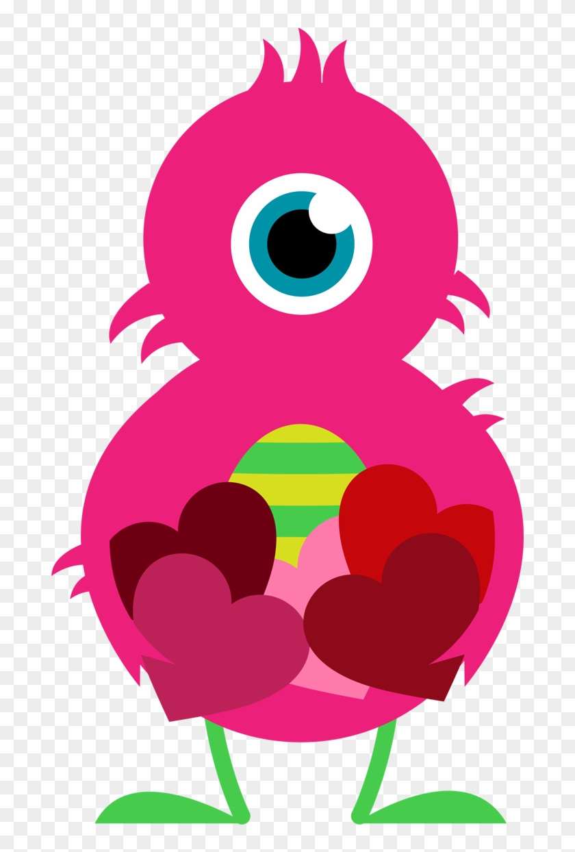 Clipart Valentine Valentine Clip Art For Kids - Yellow Pink And Purple #8517