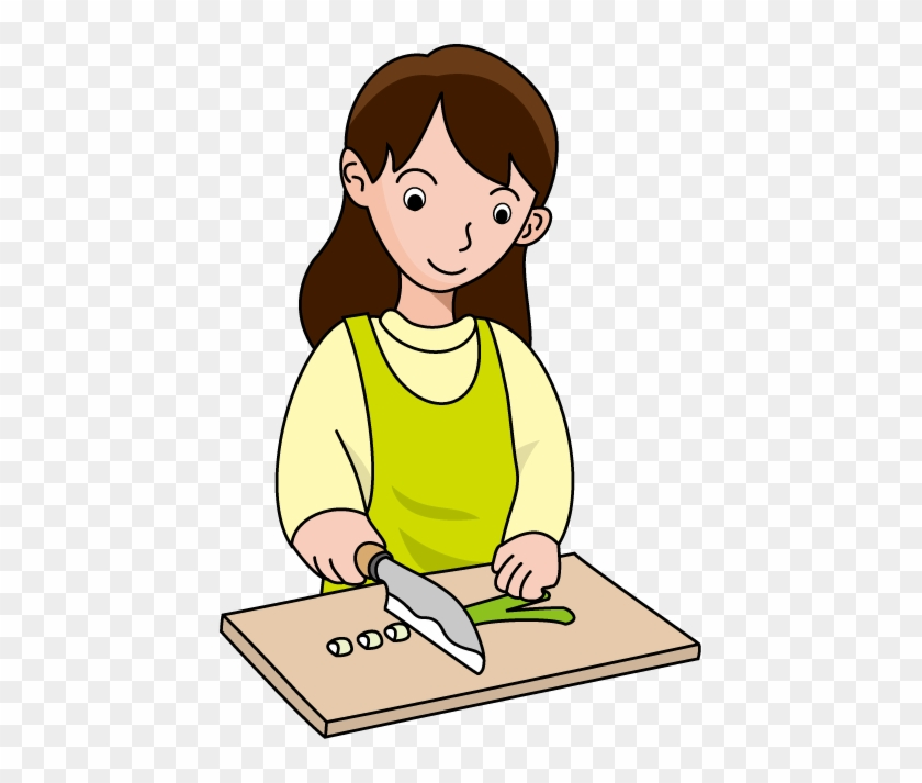 Cooking - Chopping Clipart #8523